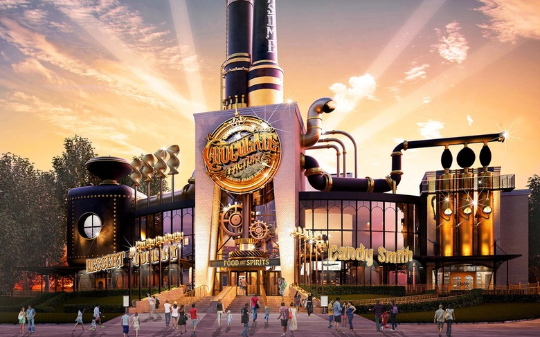 The Toothsome Chocolate Factory - Willy Wonka's Chocolate Factory