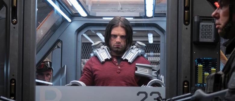 Bucky in Captain America Civil War