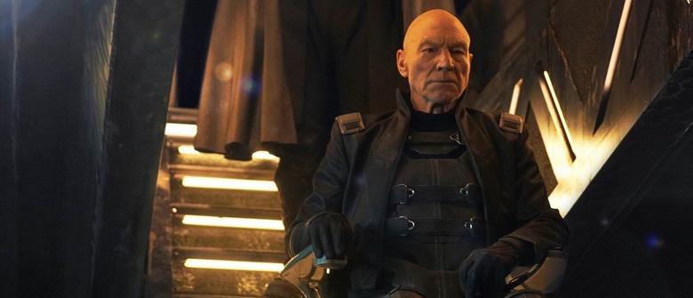 Patrick Stewart as Professor X in X-Men Days of Future Past