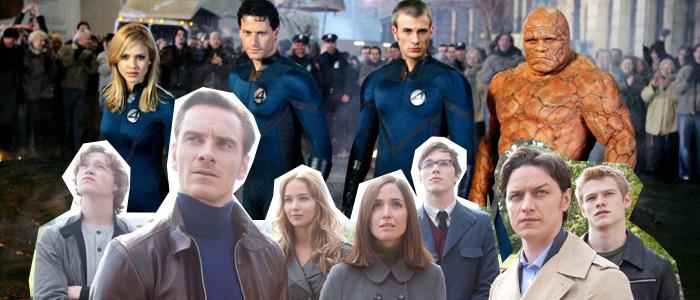 X-Men vs Fantastic Four