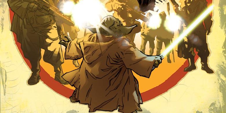 Star Wars #26 comic yoda's past
