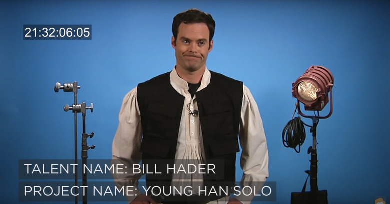 Han Solo Audition Tape