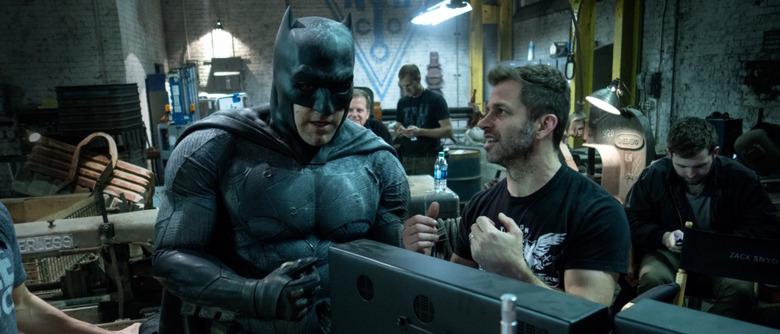 Batman v Superman Zack Snyder and Ben Affleck