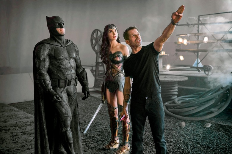 zack snyder's justice league is a movie