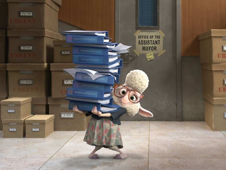 Zootopia - Bellwether