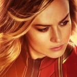 Brie Larson as Captain Marvel poster