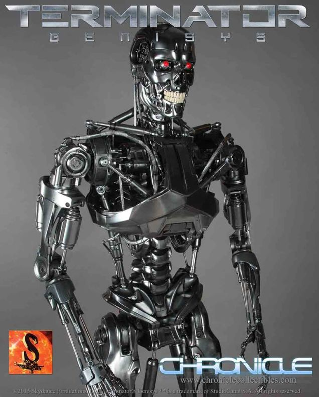 A Life-Sized Terminator