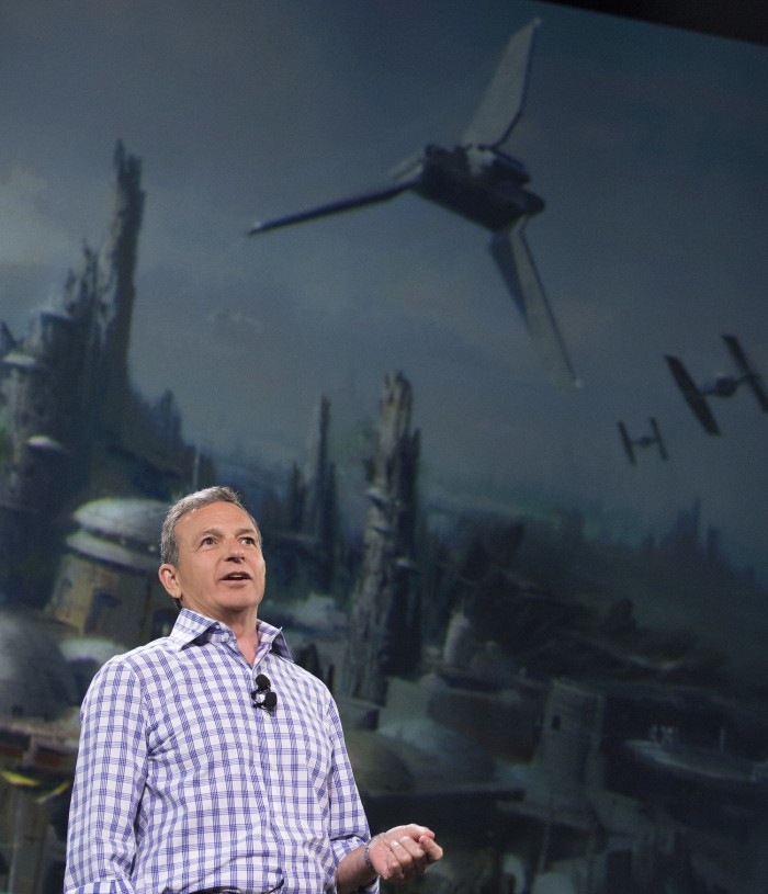 Bob Iger and Star Wars Land at D23 Expo 2015