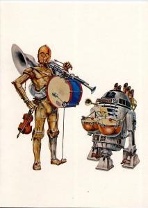 1977 LucasFilm Star Wars Christmas Card