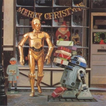 1978 LucasFilm Star Wars Christmas Card