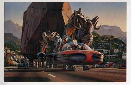 1979 LucasFilm Change of Adress Card