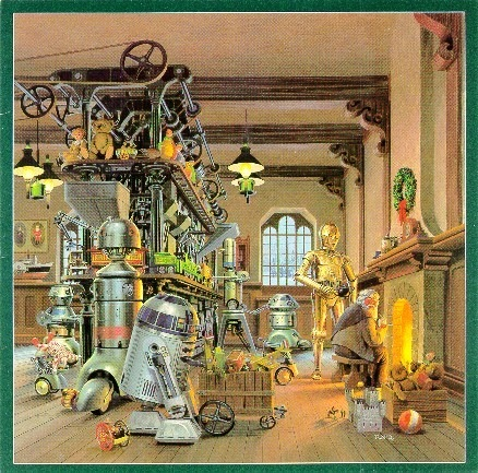 1980 LucasFilm Star Wars Christmas Card