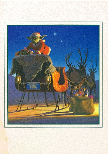 1982 LucasFilm Star Wars Christmas Card