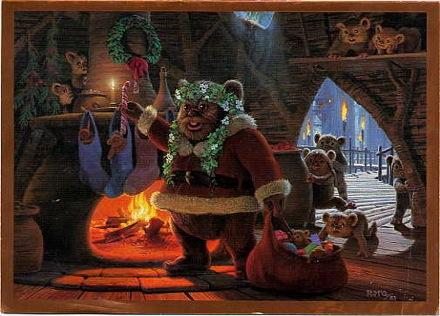 1983 LucasFilm Star Wars Christmas Card