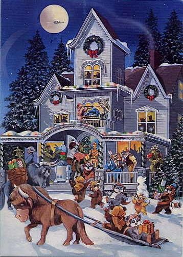 1985 LucasFilm Star Wars Christmas Card
