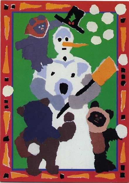 1986 LucasFilm Star Wars Christmas Card