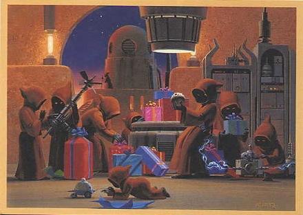 1994 LucasFilm Star Wars Christmas Card
