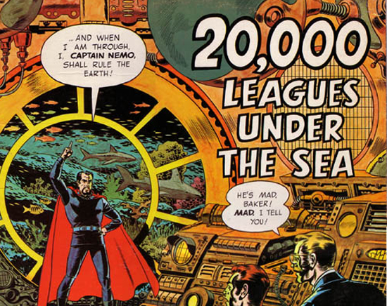 Tony and Ridley Scott Developing Their Own 20000 Leagues Under The Sea Movie