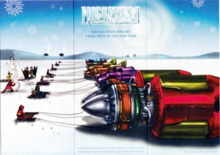 2000 LucasFilm Star Wars Christmas Card