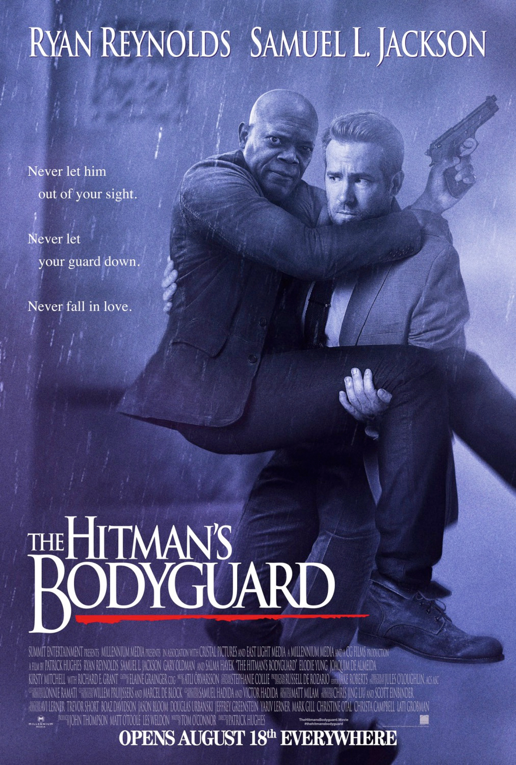 posters movie hitman bodyguard poster