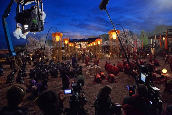 47 Ronin behind the scenes