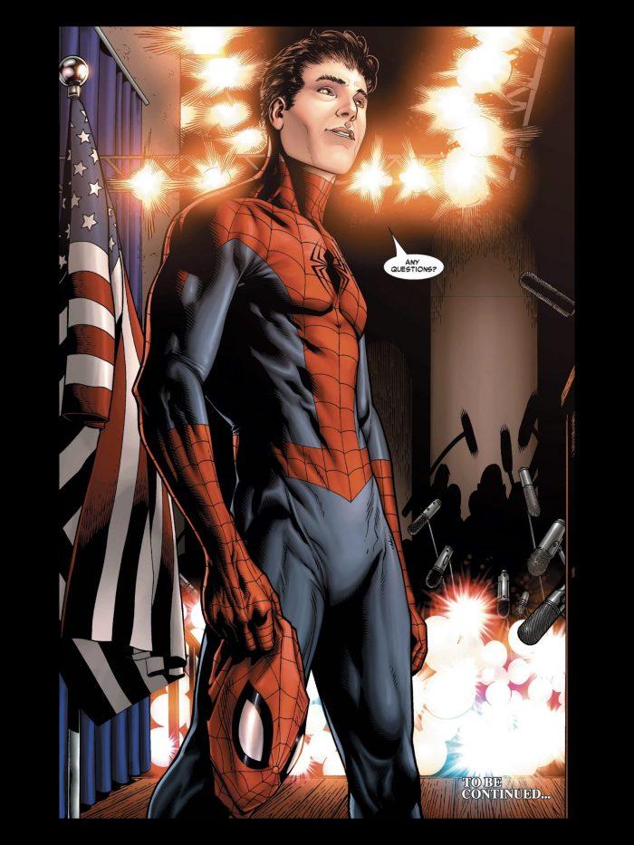 Civil War - Spider-Man Unmasked Page