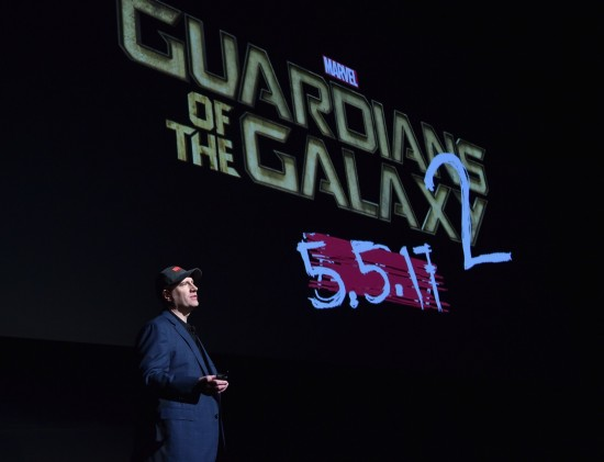 Kevin Feige Guardians of the Galaxy 2 new date