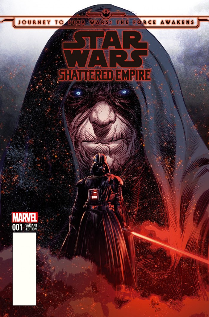 The Force Awakens: Shattered Empire variant cover from Mike Deodato for Comic*Pop Collectibles