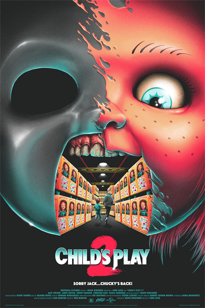 these mondo horror posters from texas frightmare weekend