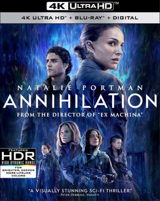 annihilation 4k cover
