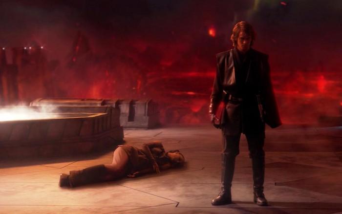 Anakin's rage