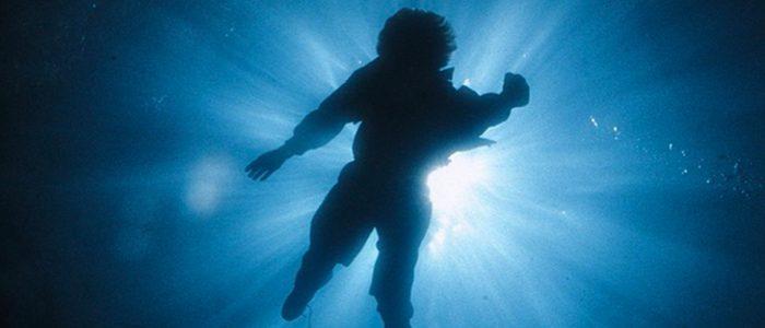 AI david underwater