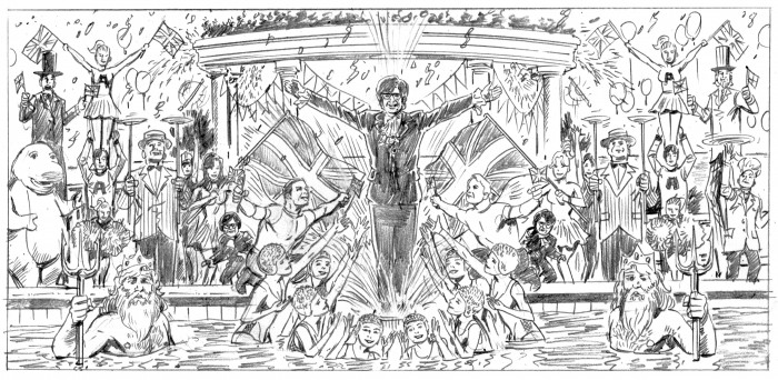 Austin Powers 2 storyboard