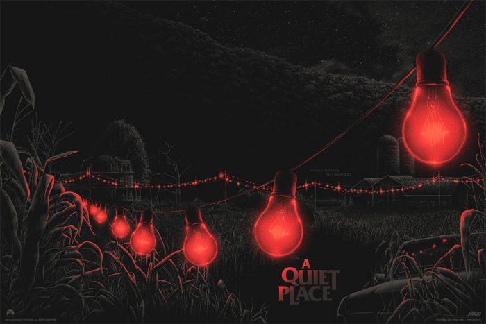 A Quiet Place Mondo poster Matt Ryan Tobin