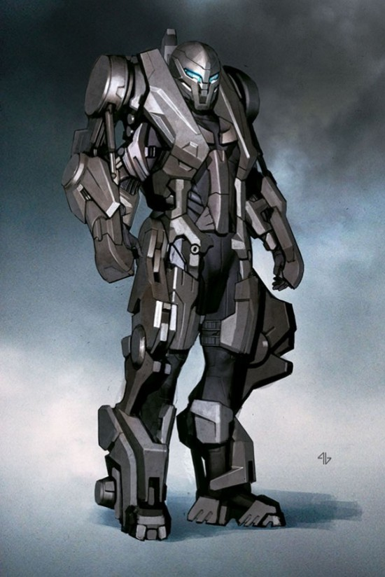 Adi Granov - Iron Man armor