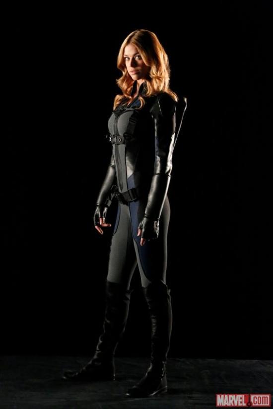 Adrianne Palicki as Mockingbird in Agents of SHIELD