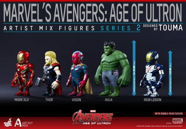 Age of Ultron Artists Mix 2
