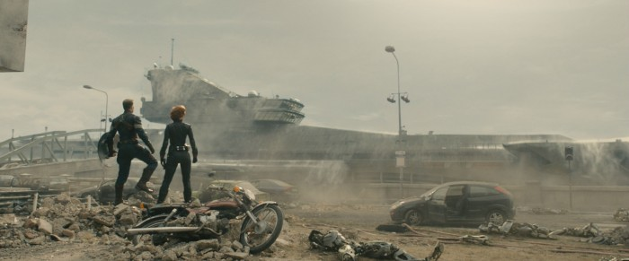 Age of Ultron Helicarrier