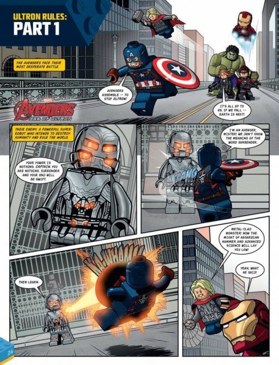 Age of Ultron Lego preview
