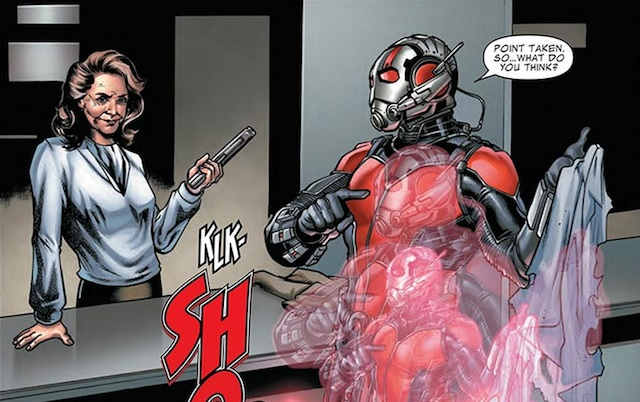 Agent Carter Ant Man