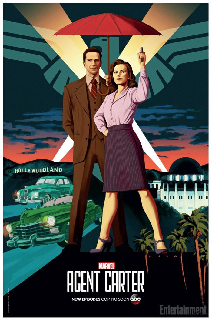 Agent Carter Comic Con poster