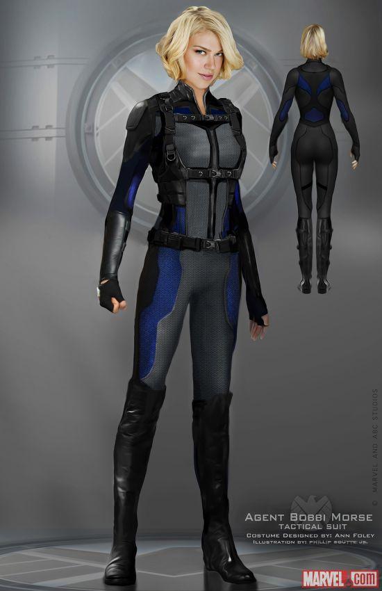 Agents of SHIELD Mockingbird concept art