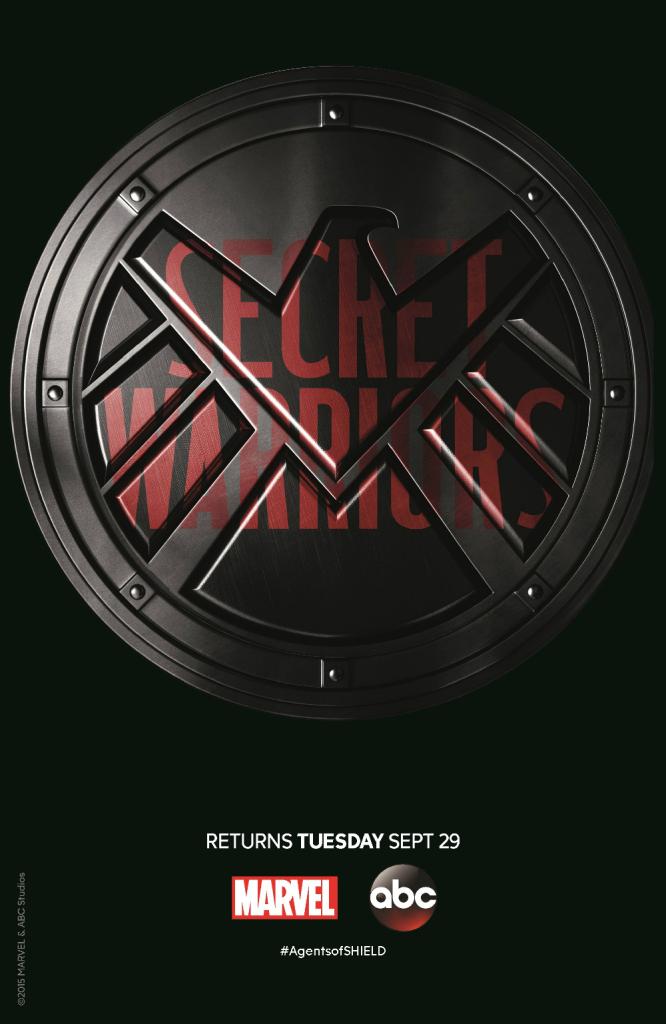 Agents of SHIELD Season 3 Secret Warriors poster