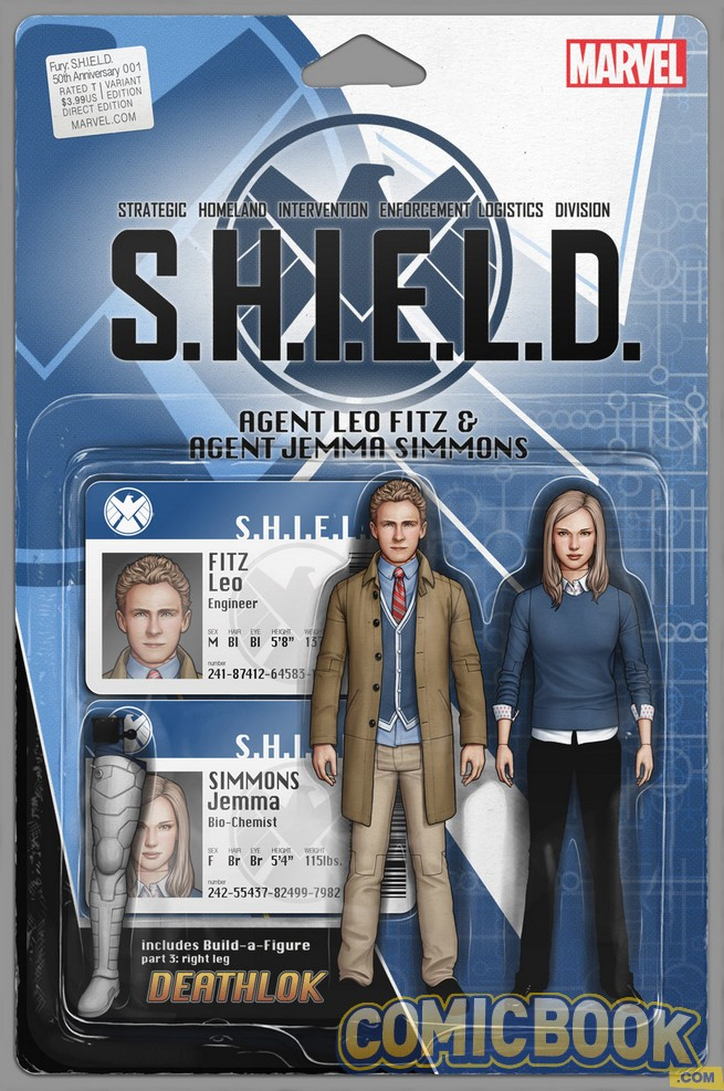 Agents of SHIELD action figure cover variant