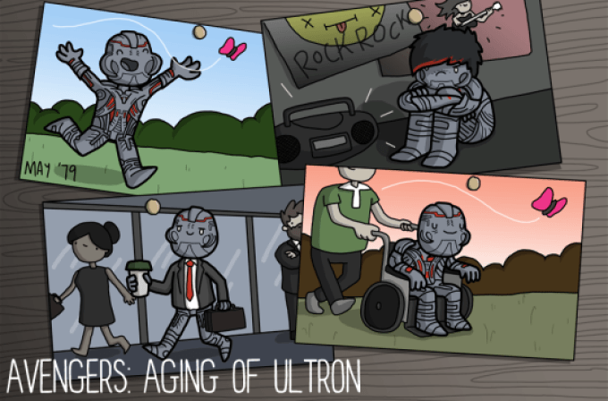 Aging Of Ultron