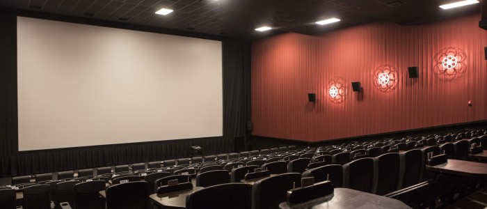Alamo Drafthouse Downtown Brooklyn - Theater Interior Photo by Victoria Stevens