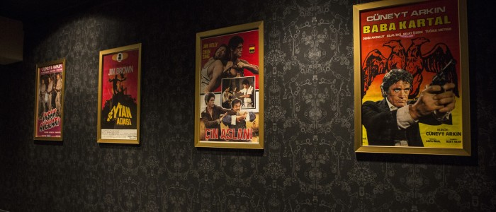 Alamo Drafthouse Downtown Brooklyn - Turkish Posters Photo by Victoria Stevens