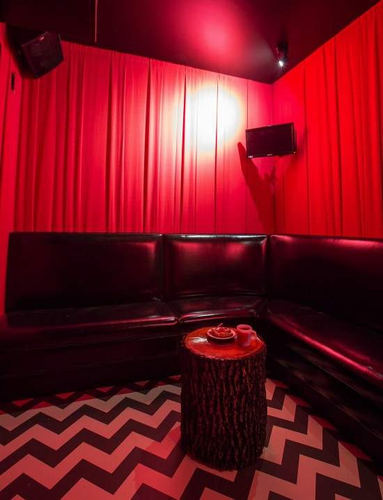 Highball Karaoke Rooms: The Black Lodge