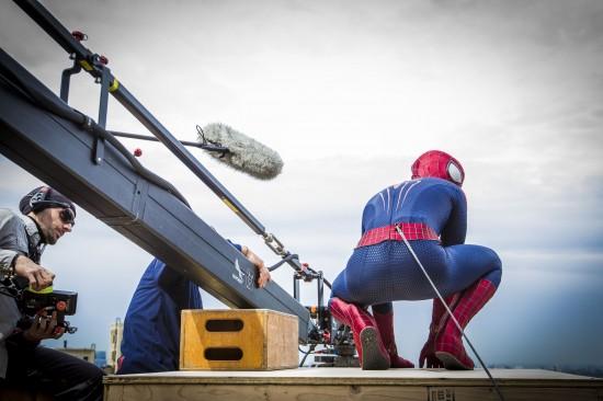 Amazing Spider-Man 2 BTS
