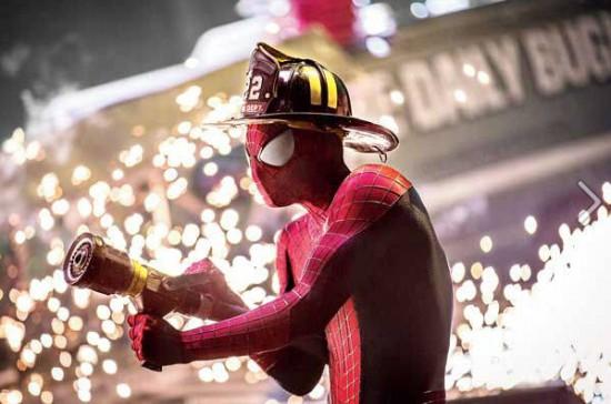 Amazing Spider-Man 2 Fire